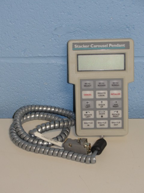 Beckman Coulter Multimek Stacker Carousel Pendant Control Image