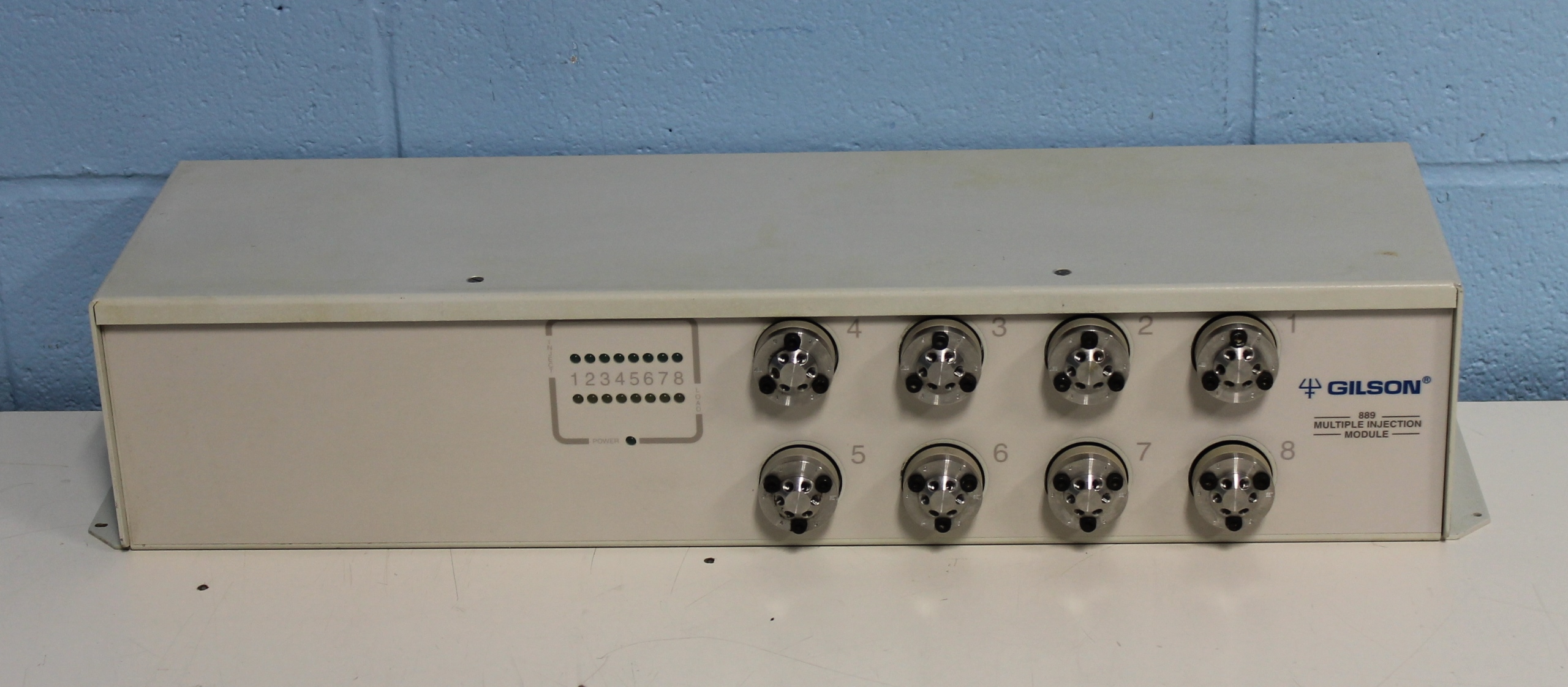Gilson Multiple Injection Module Mod 889 with Gilson 506C System Interface Module Image