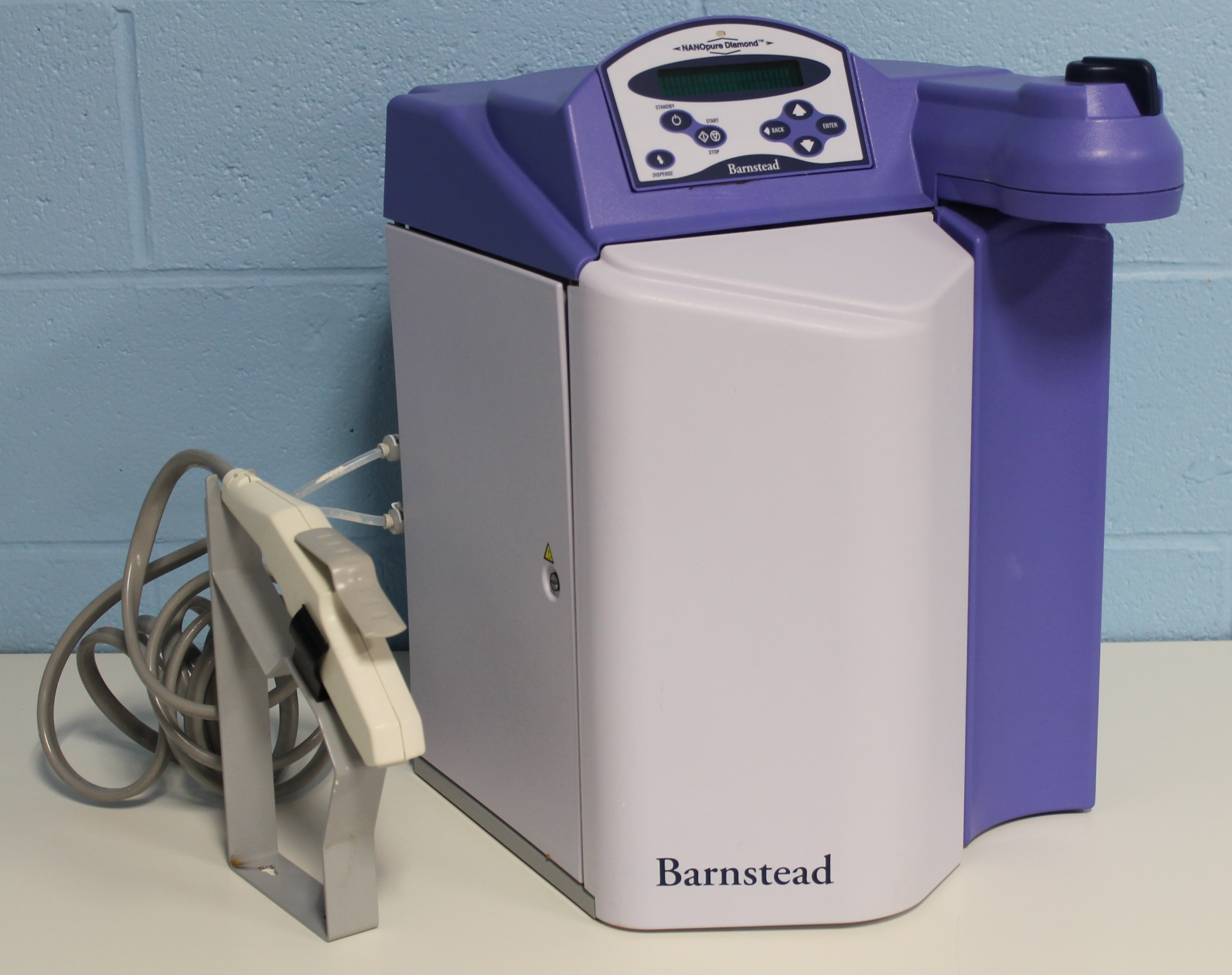 Water Distillation Systems Model ~ Refurbished barnstead thermolyne nanopure diamond water