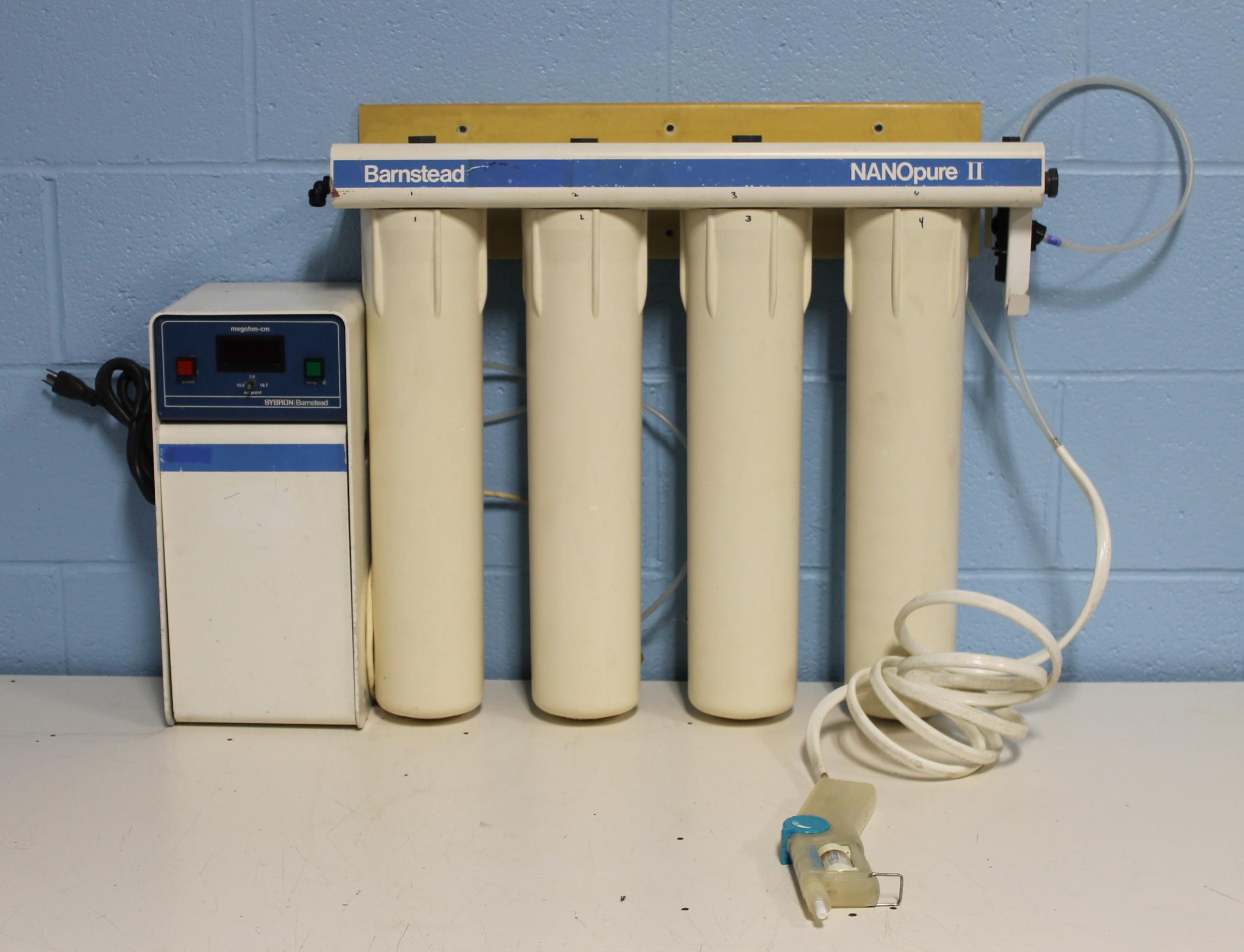 Refurbished Barnstead Sybron Nanopure Ii 4 Module Water