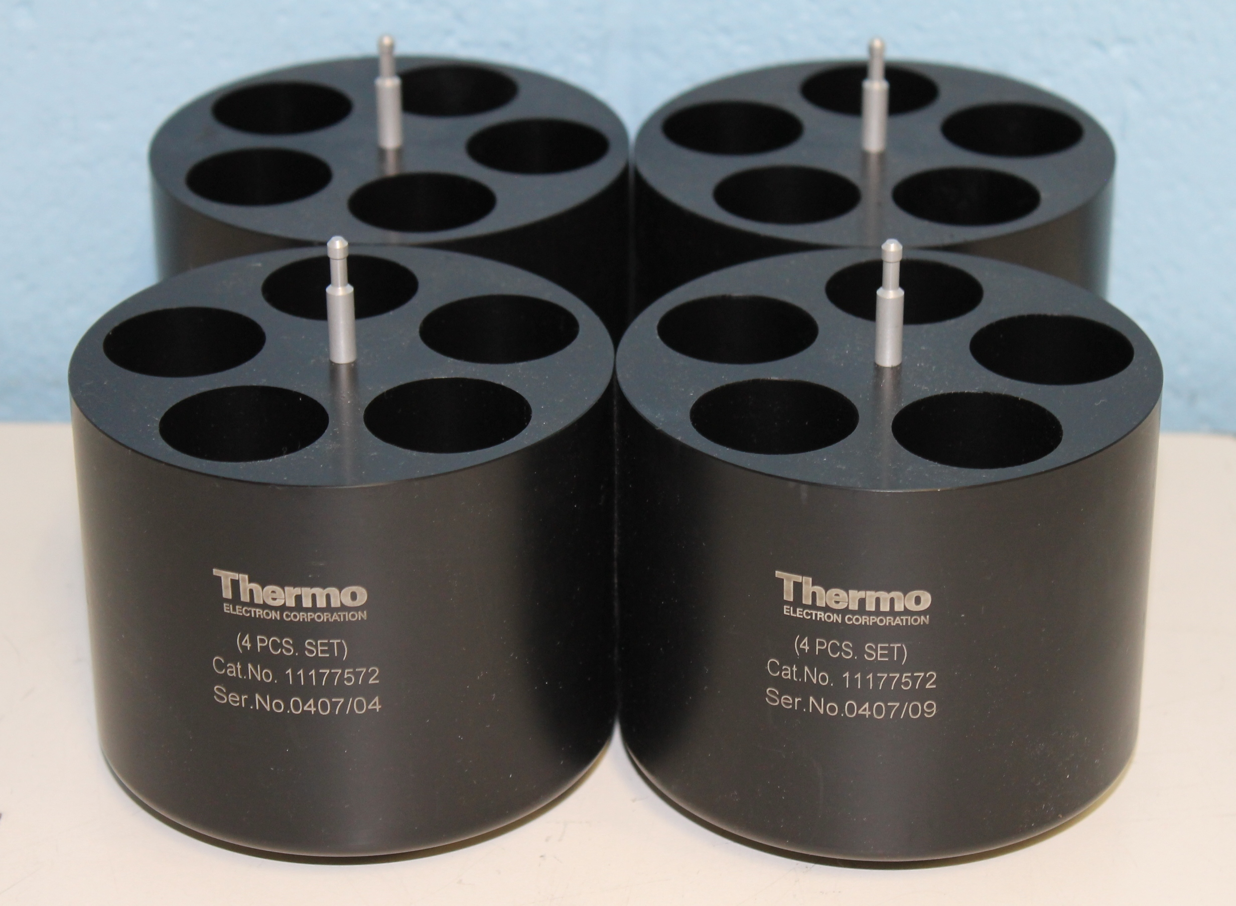 Refurbished Thermo Iec P N 1117572 Adapter Set Of 4