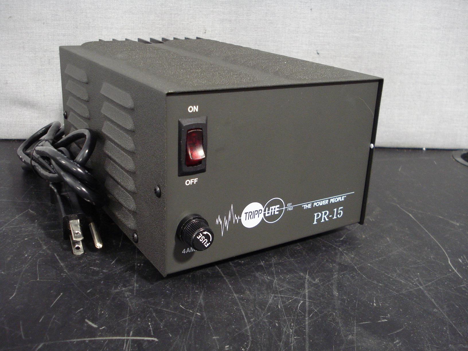 Tripp Lite PR-15B 13.8VDC 15Amp Power Supply Image