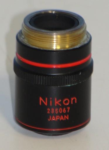 Nikon Plan 4x/0.1 160/- DL PHL Objective Image