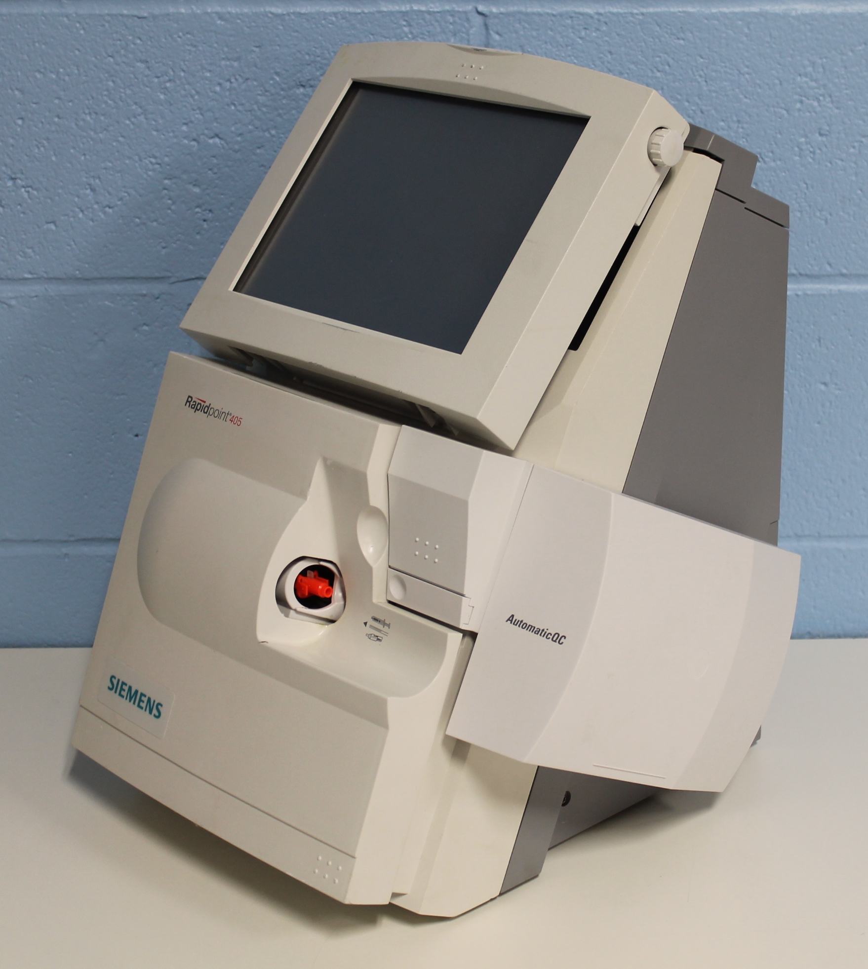 ... Siemens RAPIDPoint 405 Blood Gas Analyzer System Image