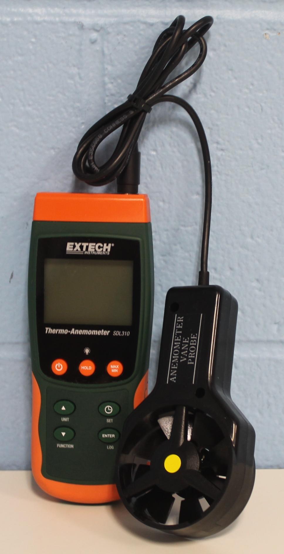 Extech Instruments SDL310 Data Logging Vane Thermoanemometer Image