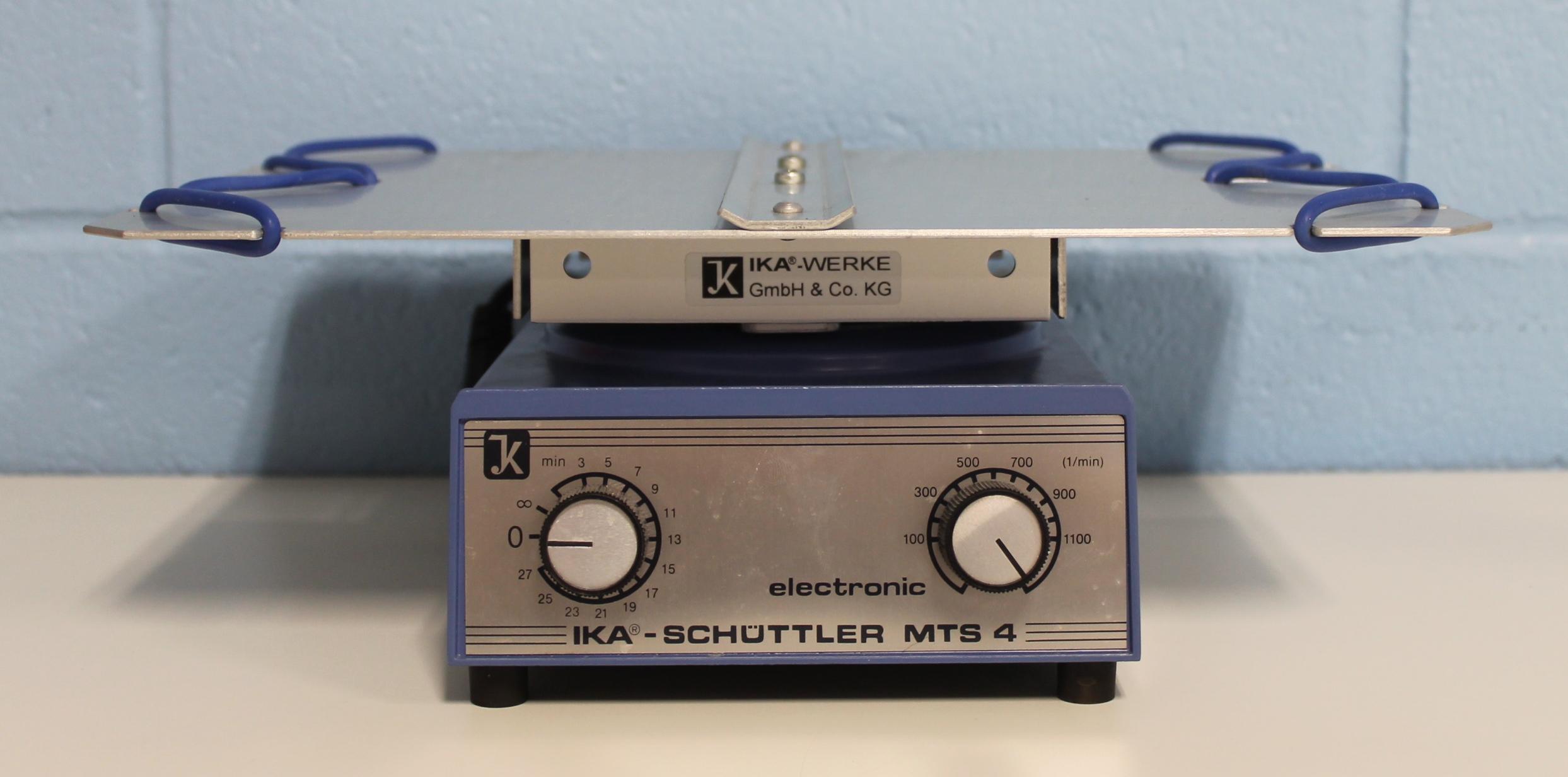 IKA Werke Schuttler MTS 4 S2 Shaker Image