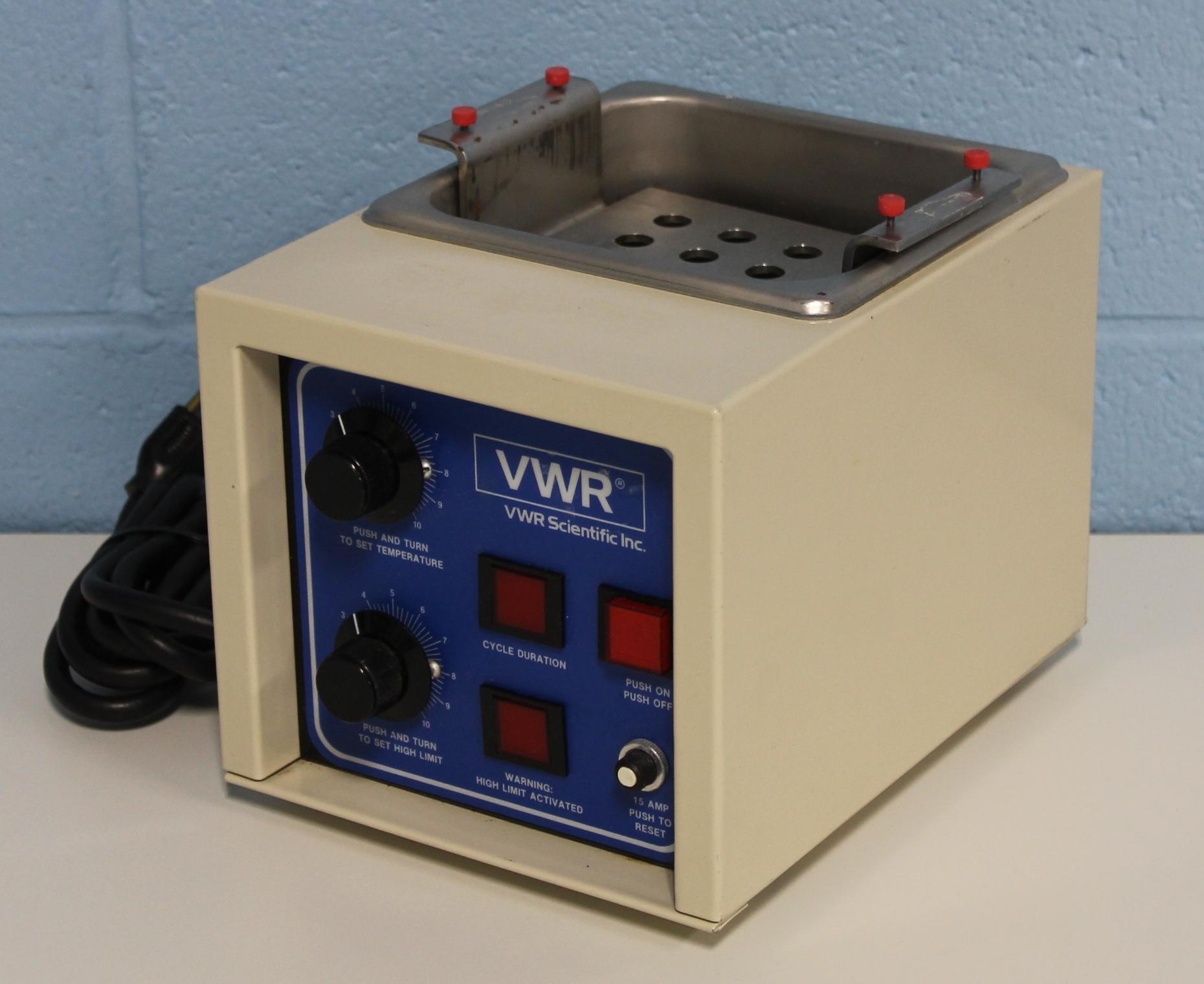 Refurbished VWR Shel Lab 1210 Waterbath
