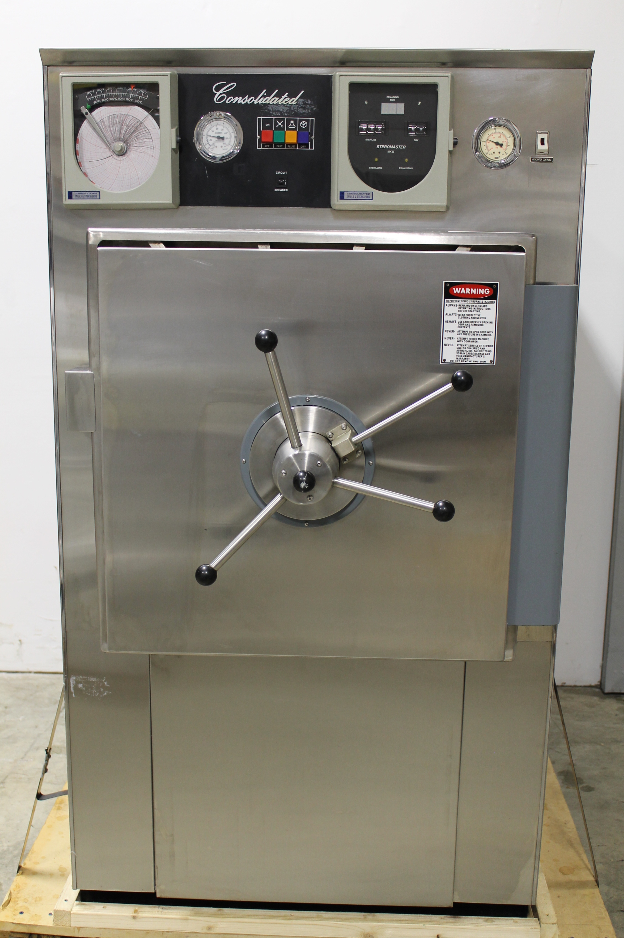 Consolidated Small Lab Series Steam Sterilizer Image