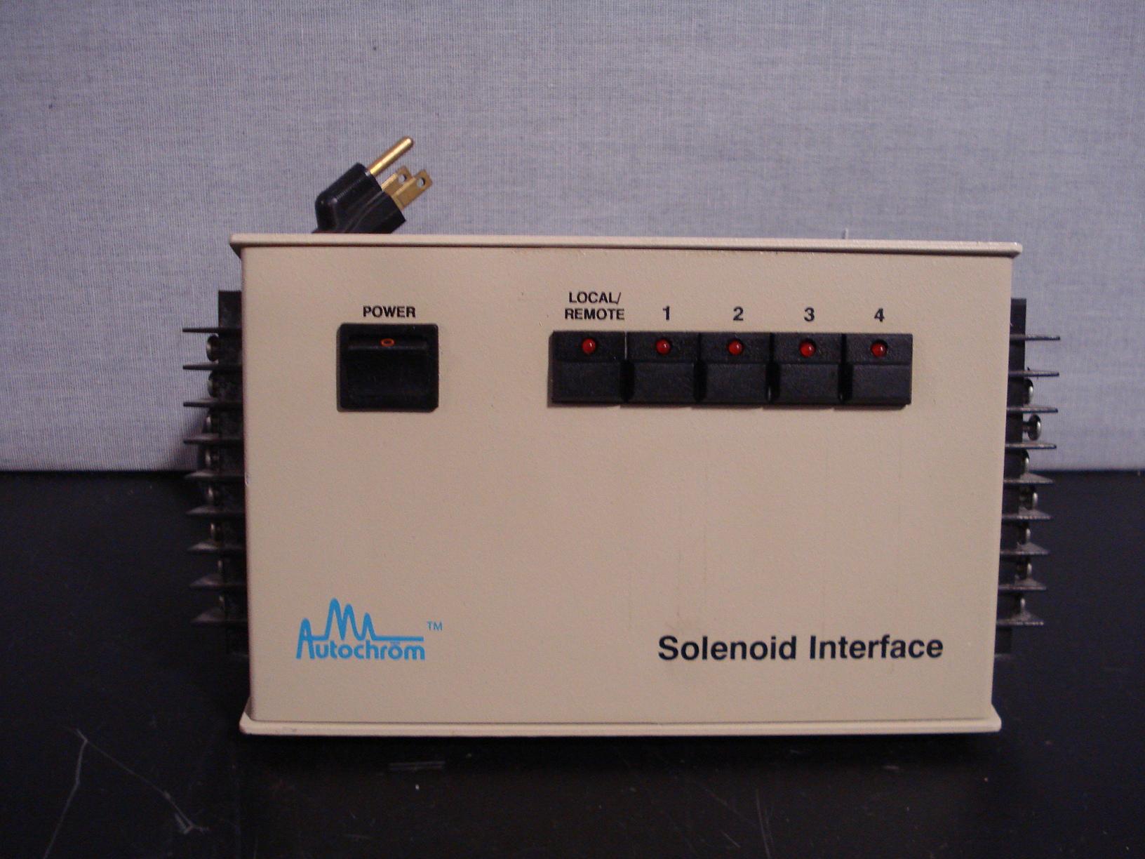 Autochrom Solenoid Interface Image
