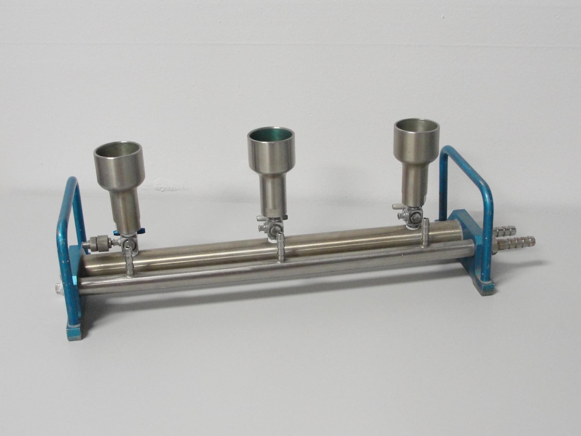 Refurbished hydrosol stainless steel manifold