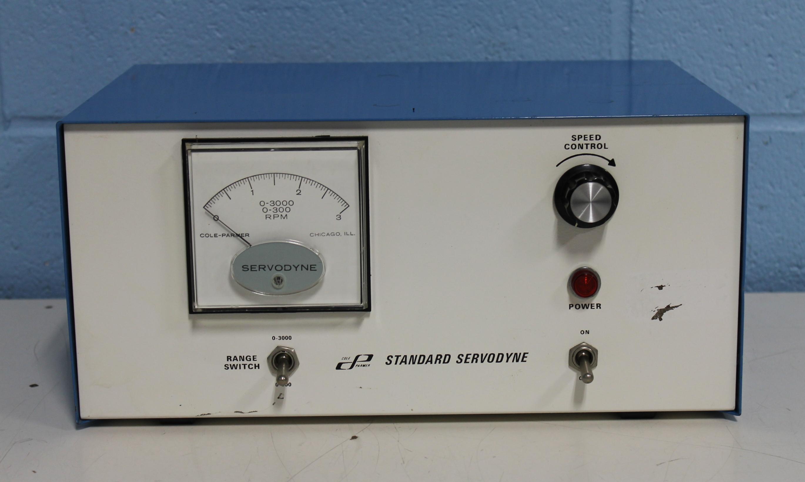 Cole-Parmer Standard Servodyne Cat. 4440-30 Peristaltic Pump Image