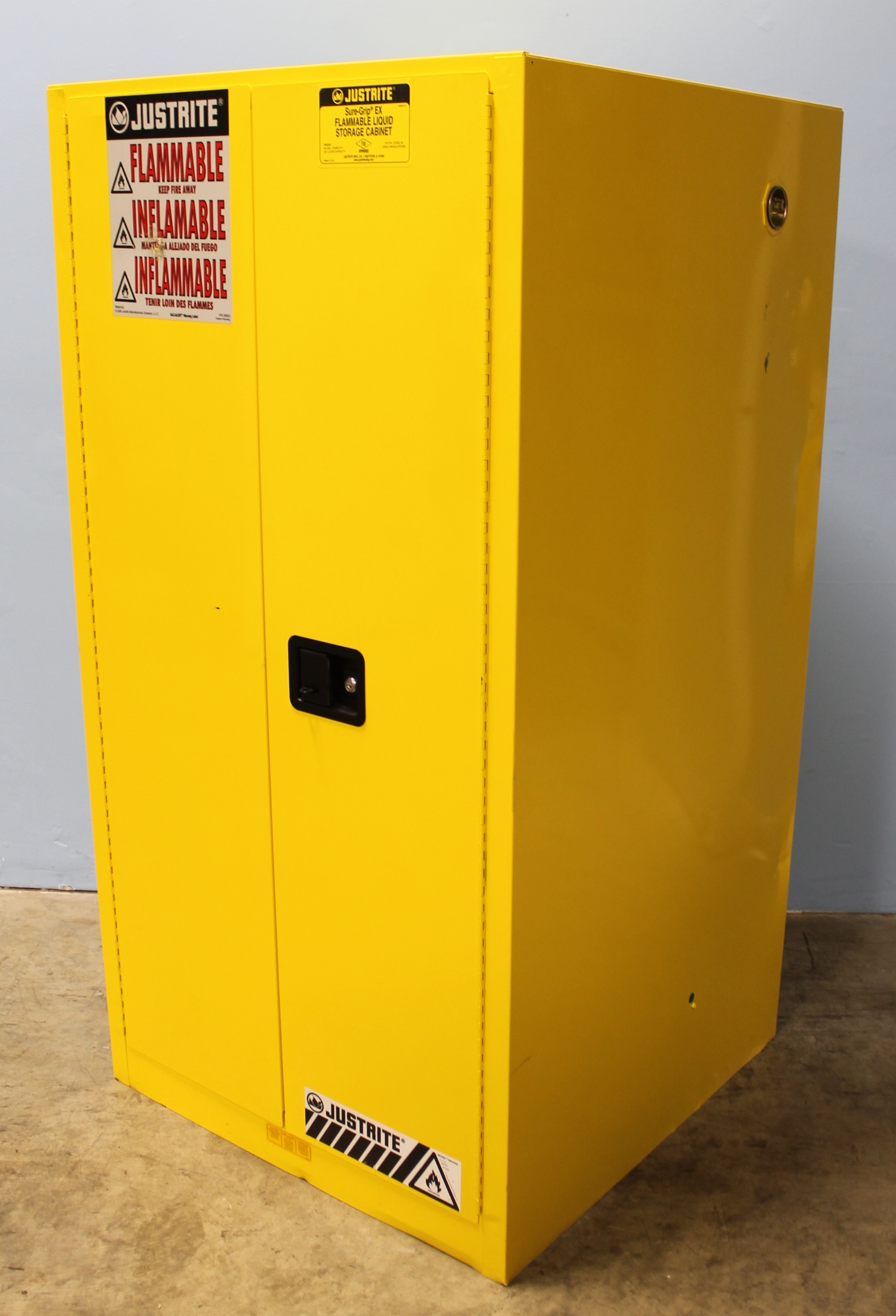 Refurbished Justrite Sure Grip Ex 896000 Flammable Safety