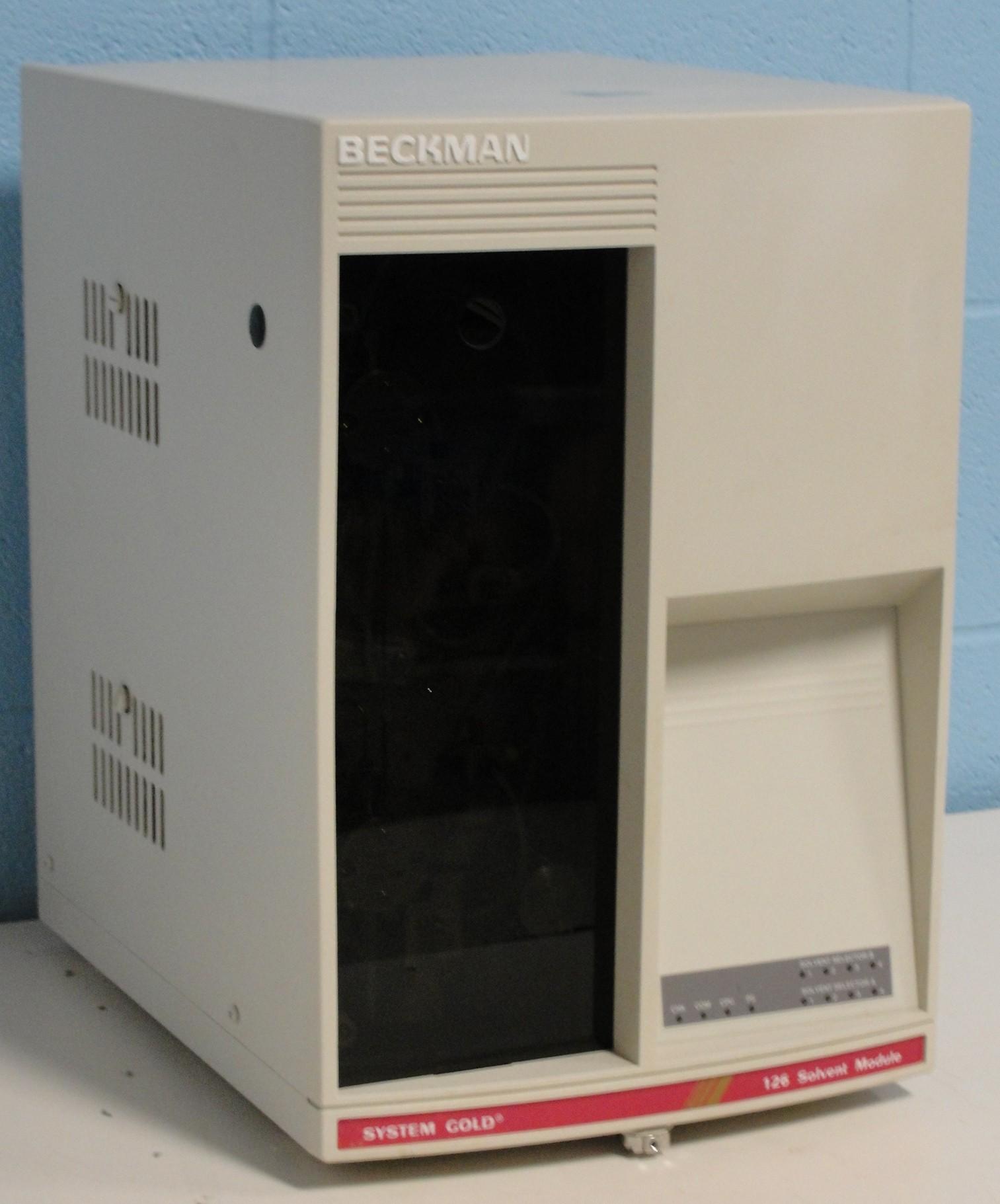 Refurbished Beckman System Gold 126 Solvent Module