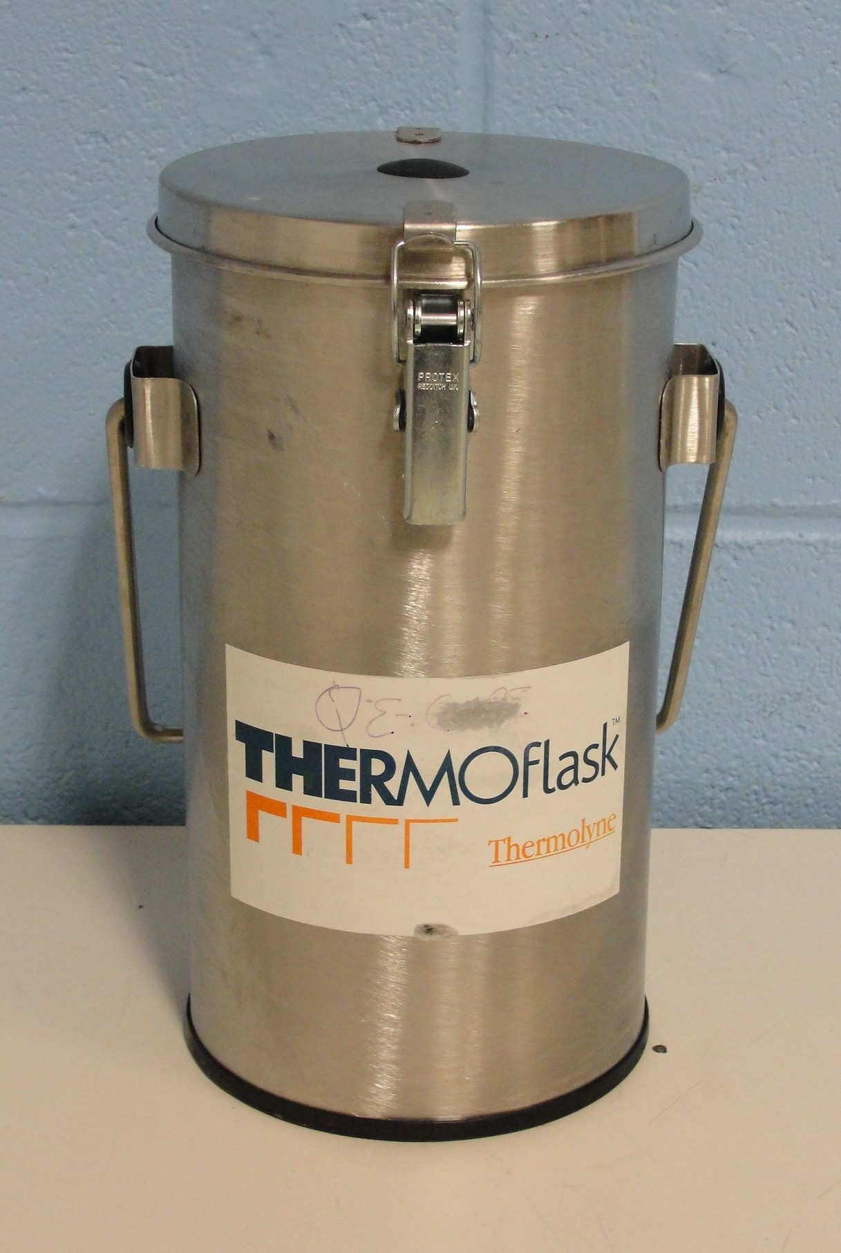 Nitrogen Bench Top Cabinet ~ Refurbished thermolyne thermo flask benchtop liquid