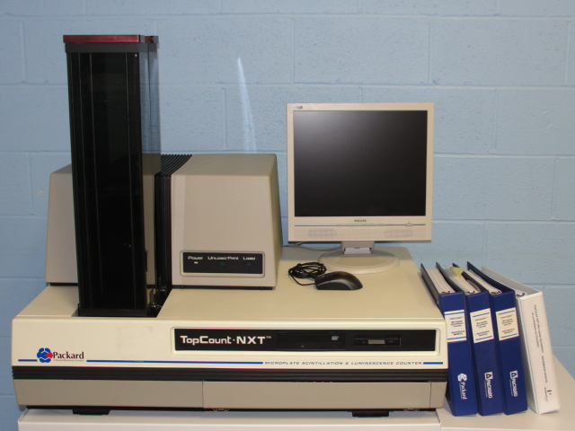 Packard BioScience Company TopCount NXT Model C991200 Microplate Scintillation and Luminescense Counter 12 Detector Image
