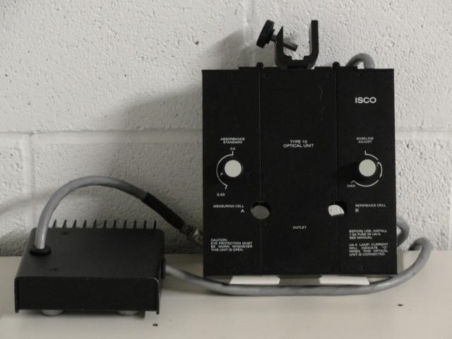 ISCO Type 10 Liquid Chromatography Optical Unit Image