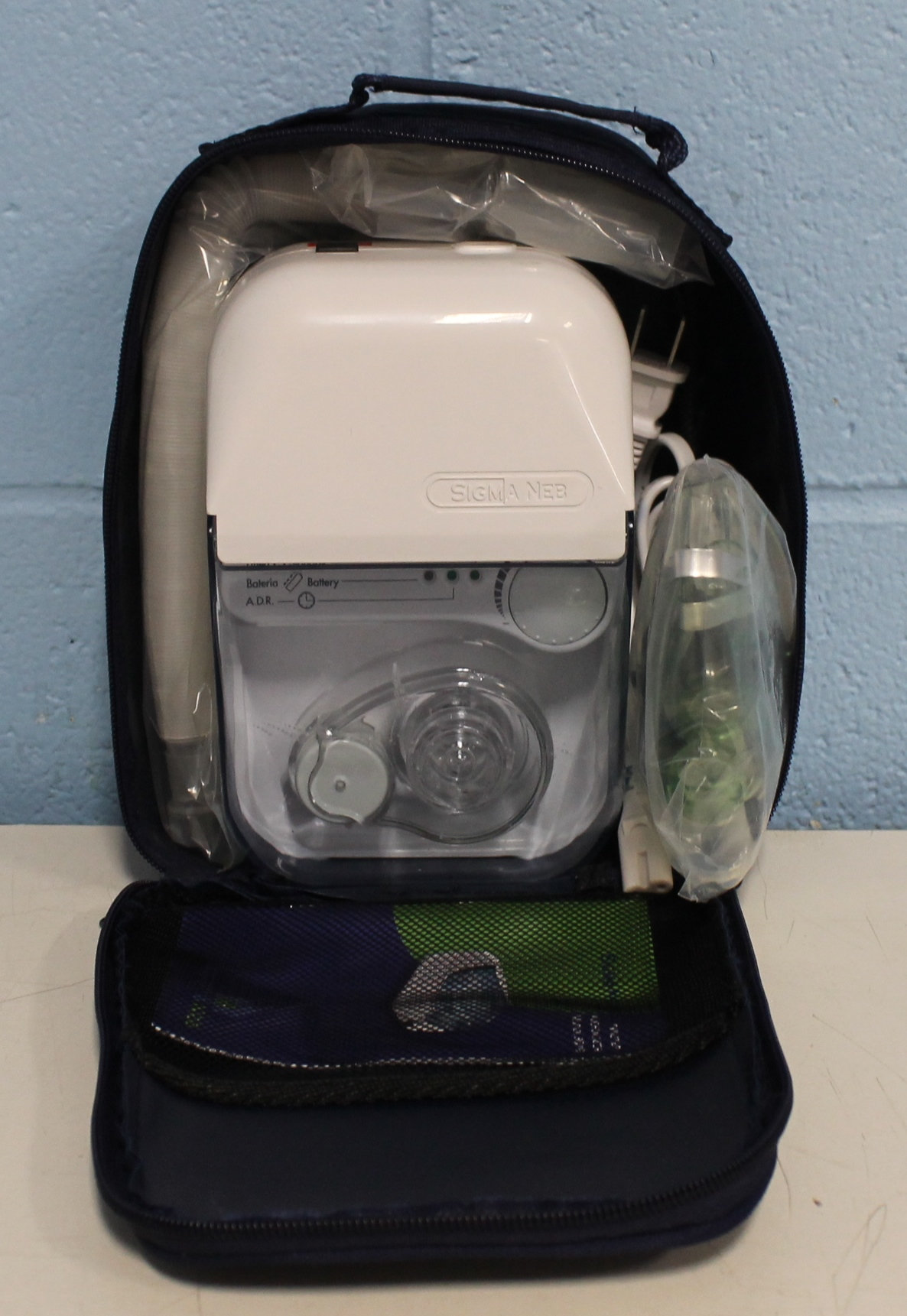 SigmaNeb Ultrasonic Nebulizer Twister Model 3019 Image