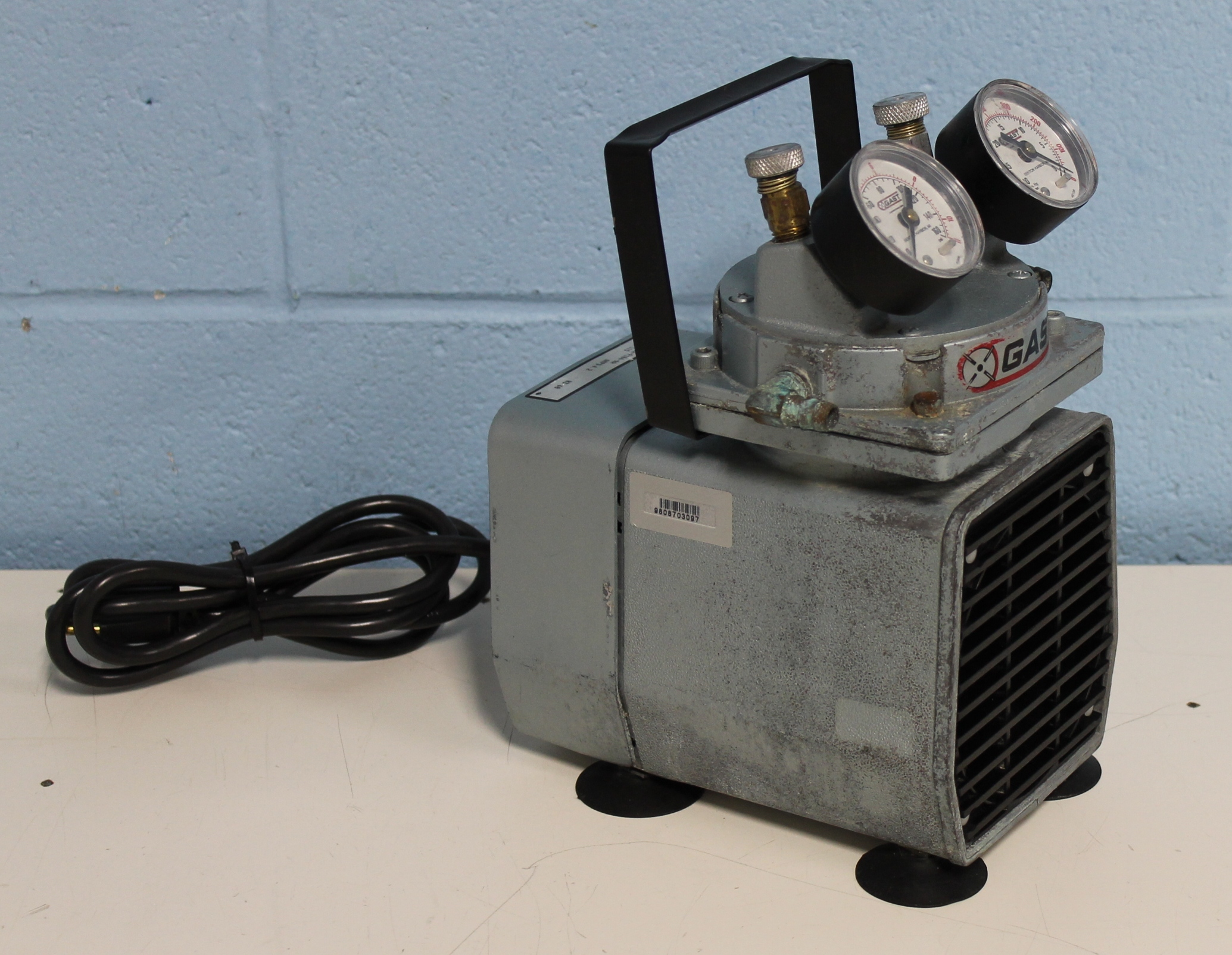 Refurbished Gast Model Doa P104 Aa Oil Less Vacuum Pump Wiring A Image