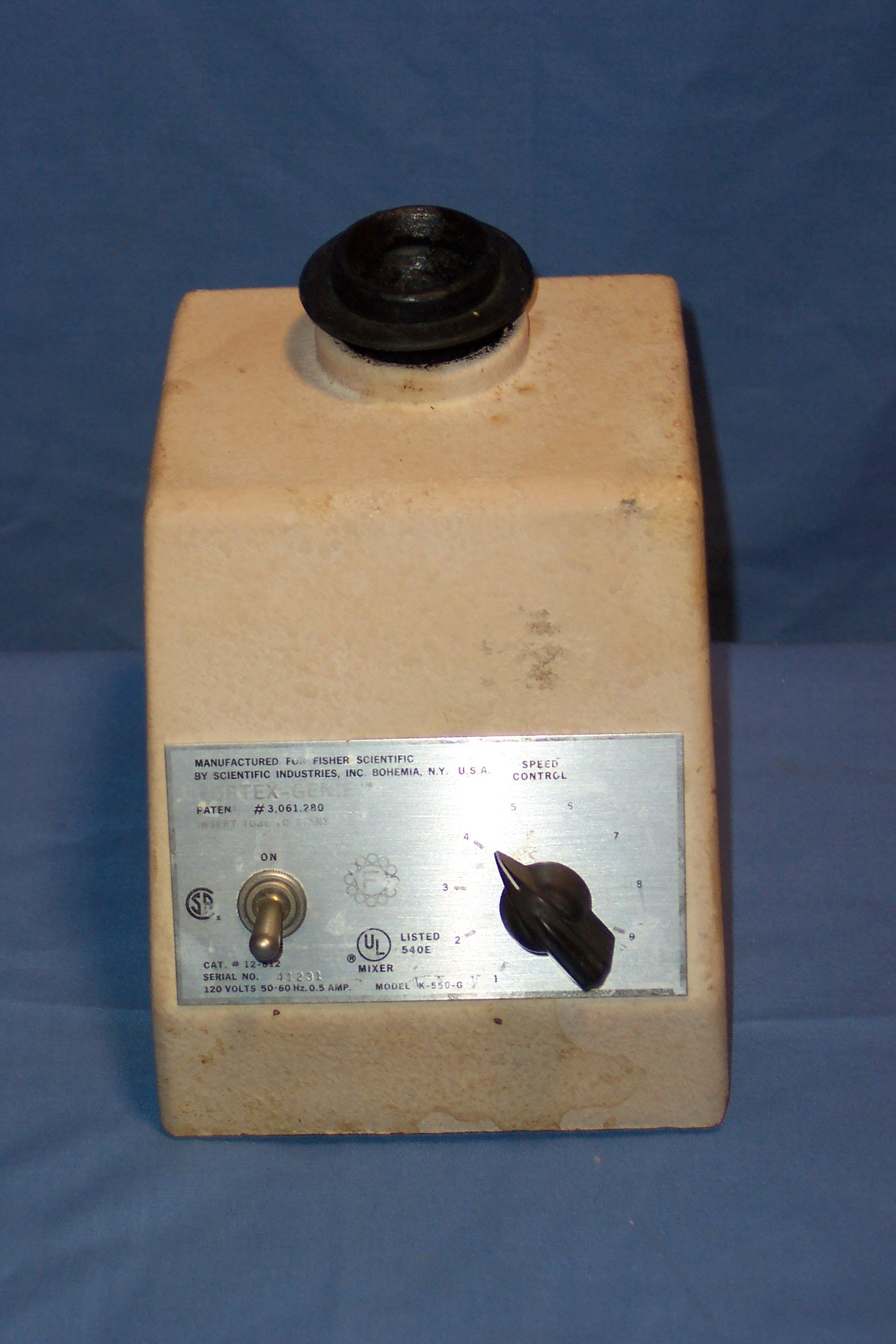 Fisher Scientific Vortex Mixer Image