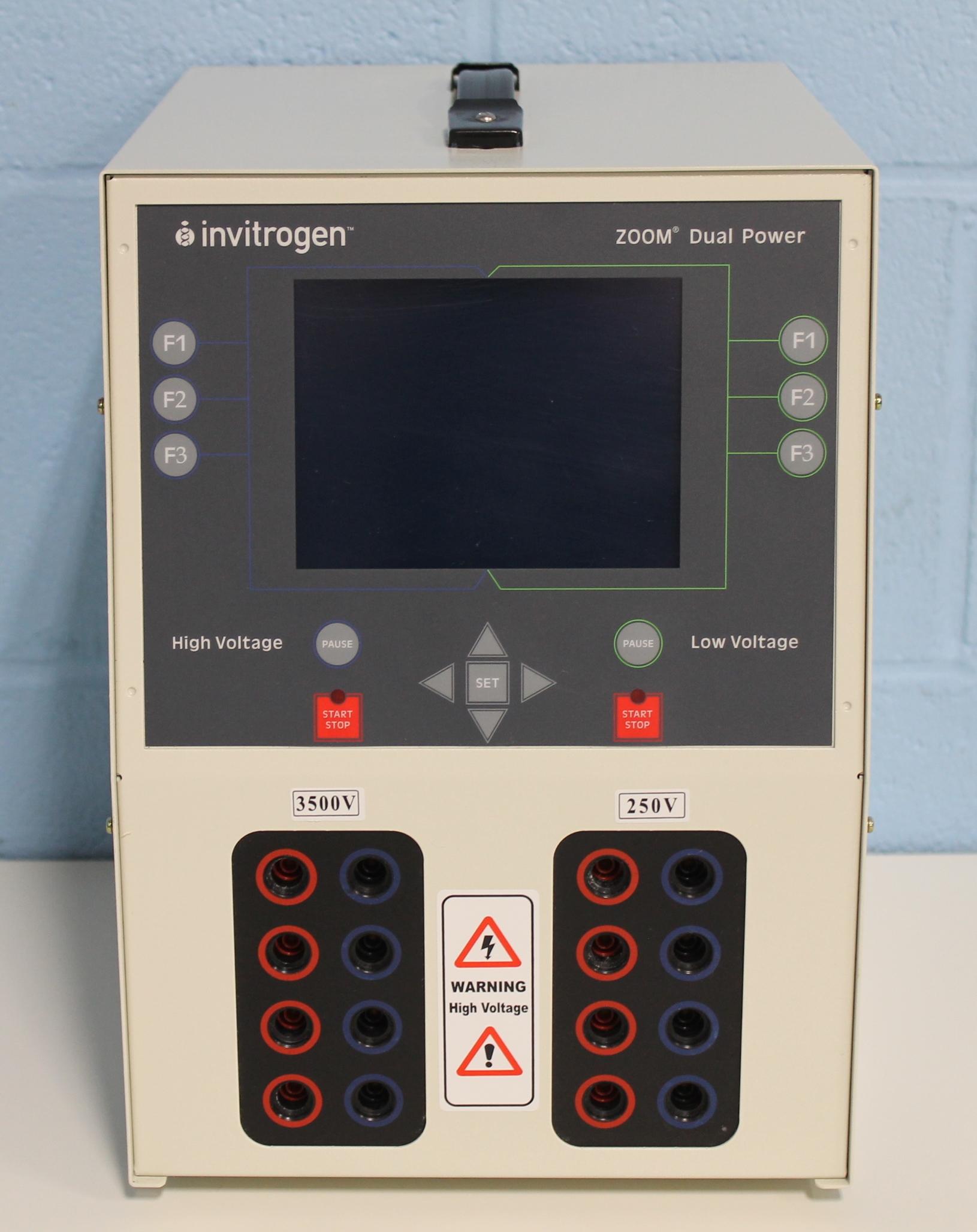 Refurbished Invitrogen Zp10001 Zoom Dual Power Supply Image
