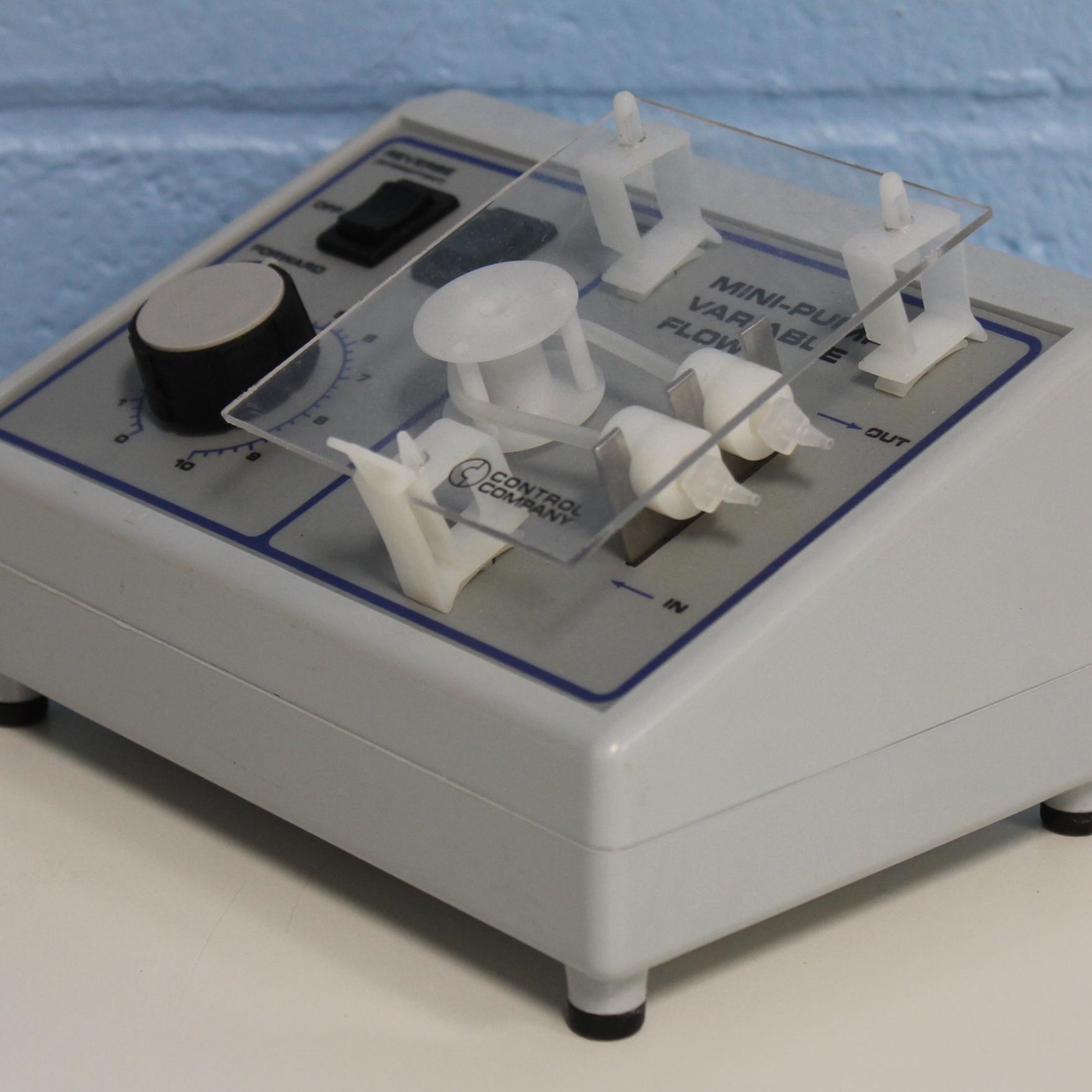 Control Company Mini-Pump Variable Flow Reversible Peristaltic Pump 3384CC Image