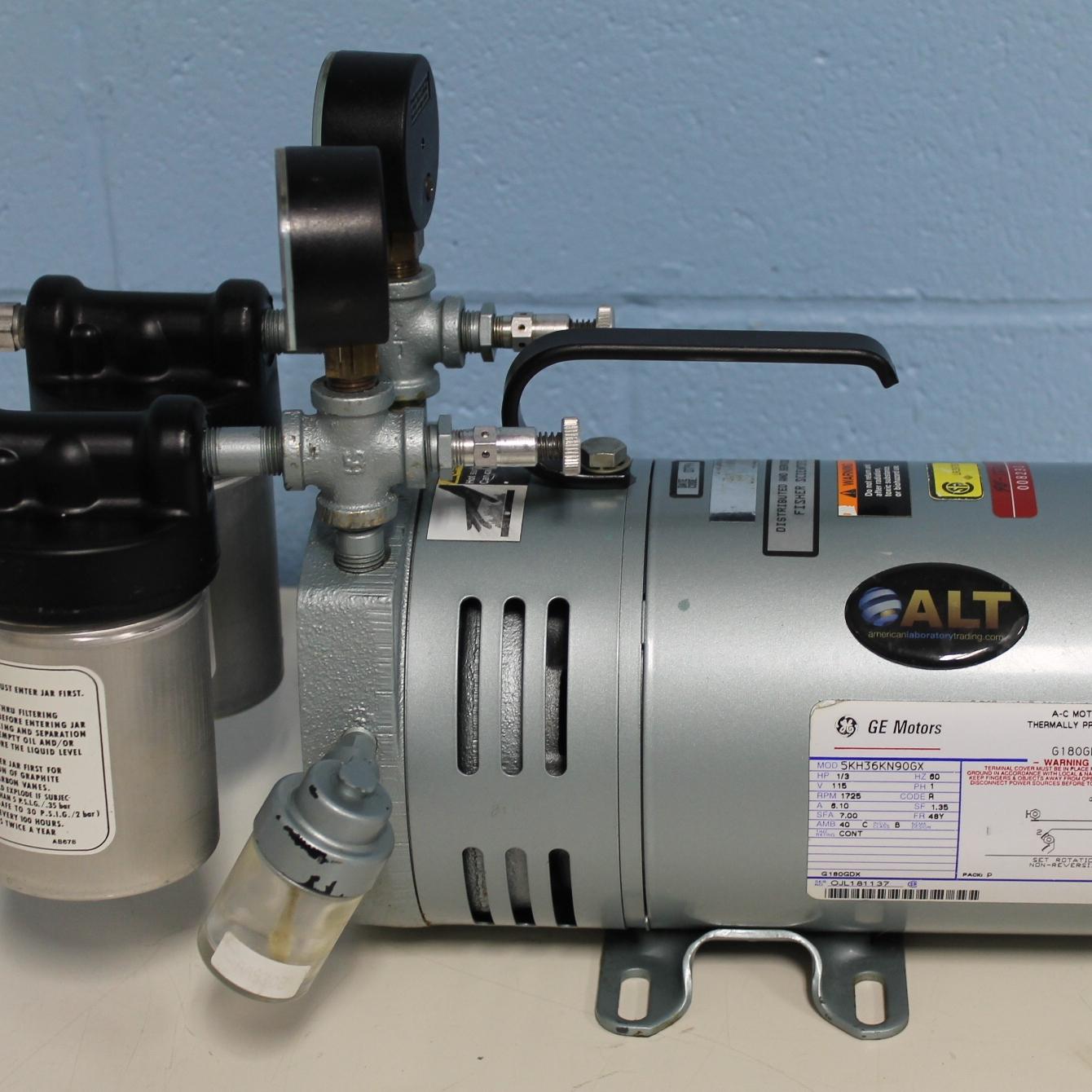 Gast 0523-V4H-G588DX Rotary Vane Vacuum Pump Image
