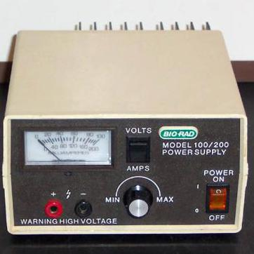 Bio-Rad Electro Power Supply  Model 100/200 Image