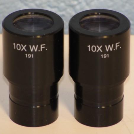 Zeiss 10X W.F. Microscope Eyepiece Image
