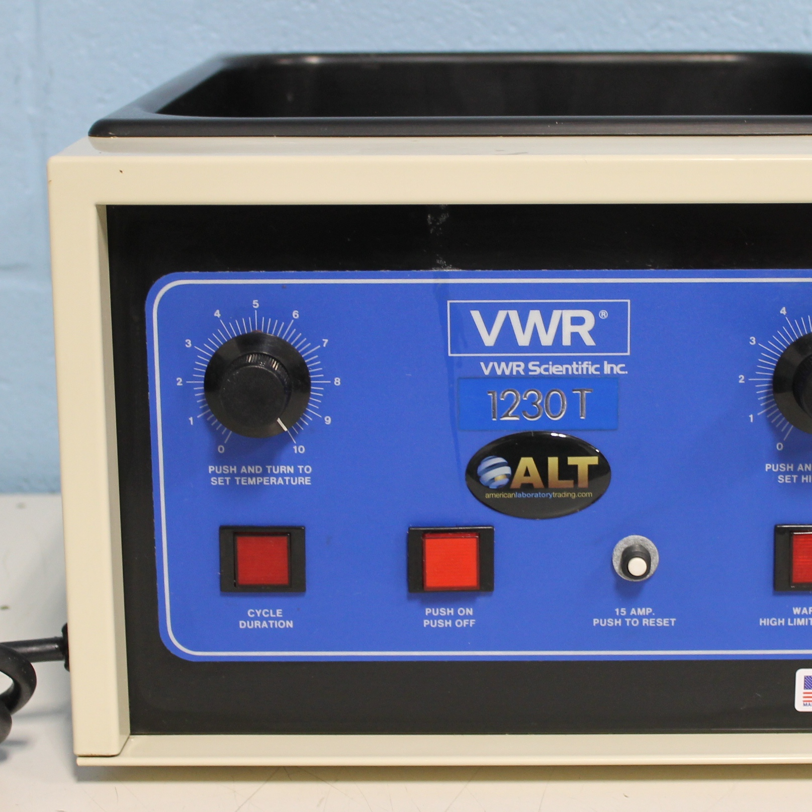 VWR 1230T Water Bath Image