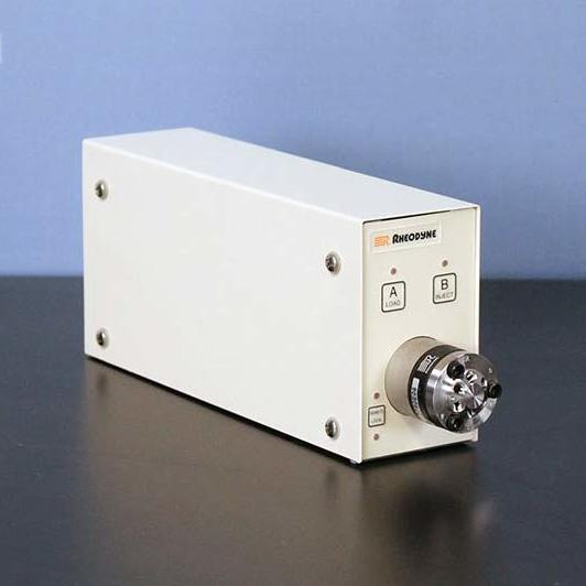 Rheodyne 7750 TPMV Motorized Valve Injector SS Image