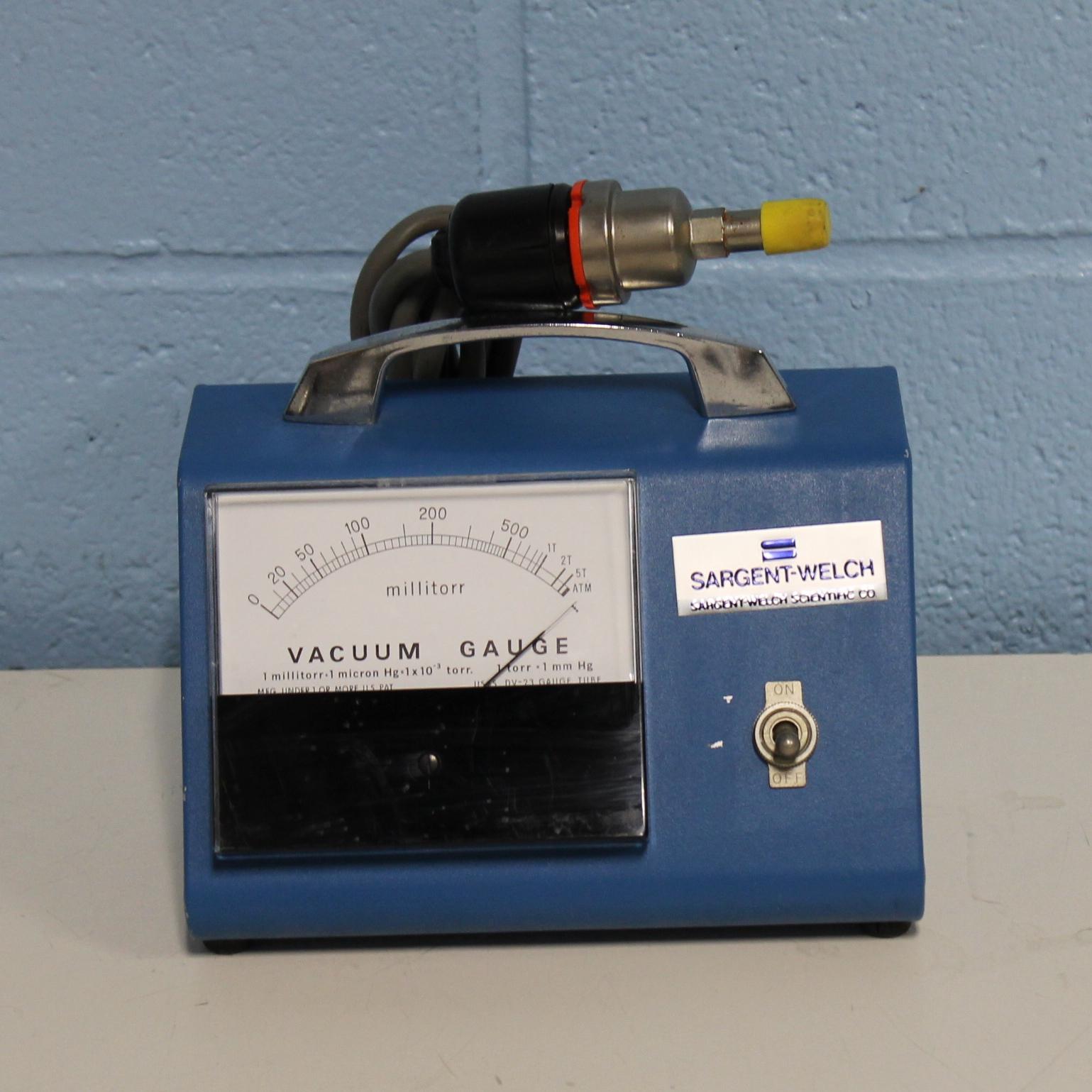 Sargent-Welch 1515 Vacuum Gauge Image