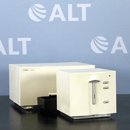 Agilent 8453 Diode Array UV/VIS Spectrophotometer Model G1103A with Multi-Cuvette Holder Image