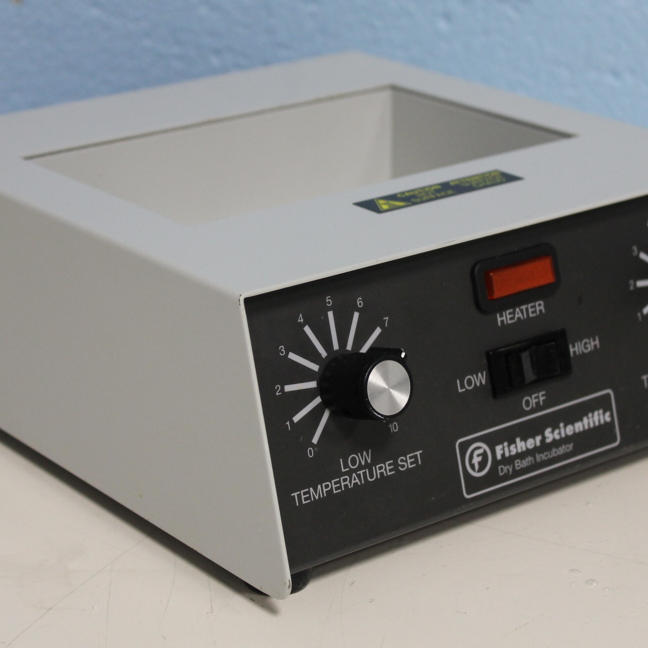 Fisher Scientific 2-Block Analog Dry Bath Incubator Image
