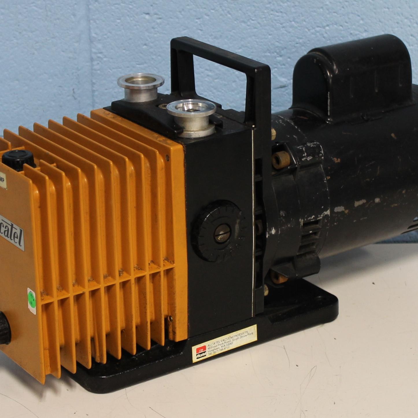 Alcatel 2004A Dual Stage Rotary Vane Vacuum Pump Image
