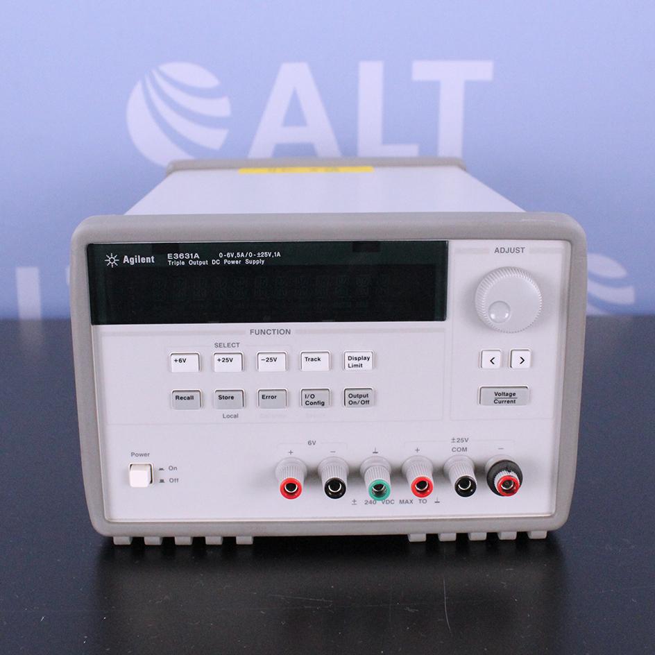 Agilent Technologies E3631A 80W Triple Output DC Power Supply Image