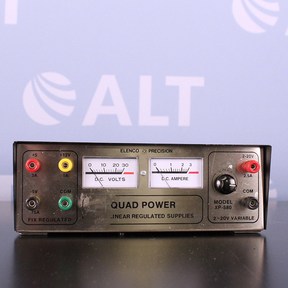 XP-580 Solid-State DC Power Supply