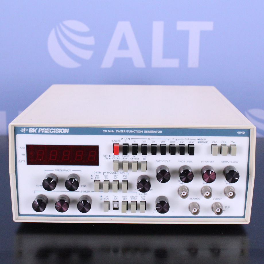 20 MHz Sweep Function Generator Name