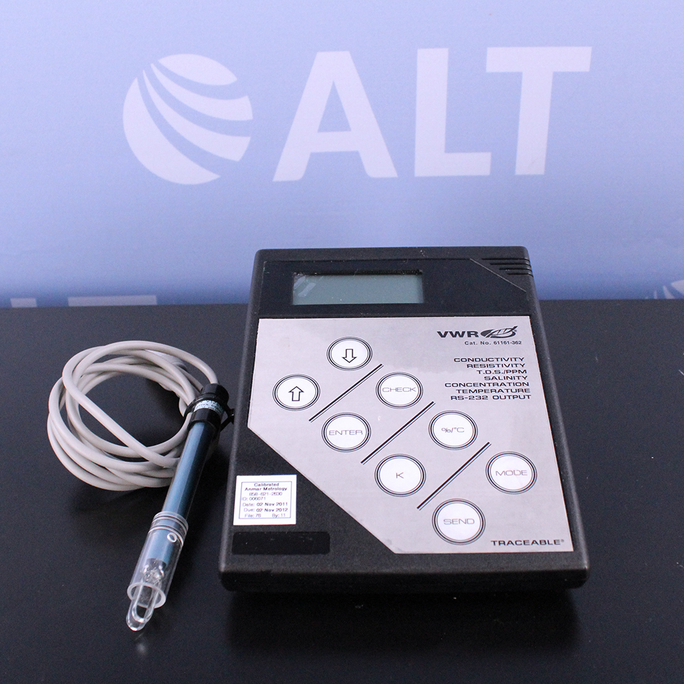 VWR Digital Conductivity Bench Meter Model:61161-362 Image