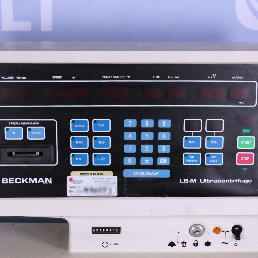 Beckman Coulter L8-60MR Ultracentrifuge Image