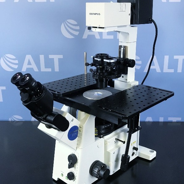 Olympus IX71 Research Inverted System Microscope Image