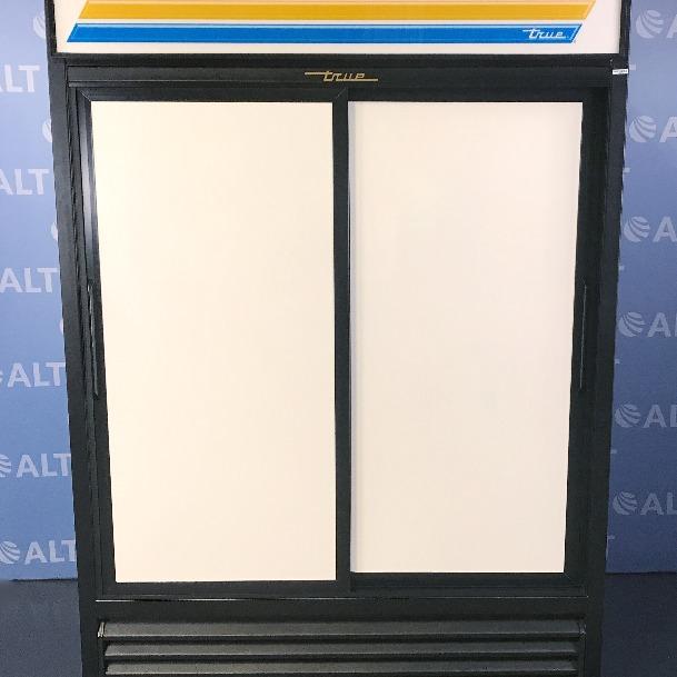 Model GDM-47 Dual Sliding Door Refrigerator Name