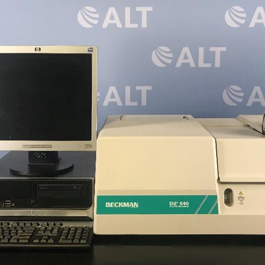 DU 640 Spectrophotometer Name