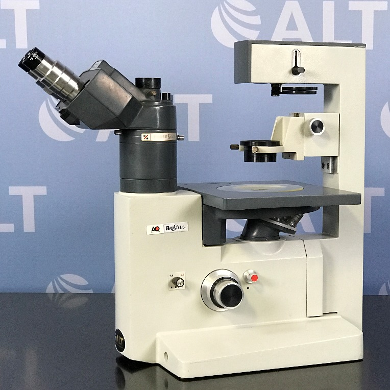 American Optical AO BioStar 1820 Tissue Culture microscope Image