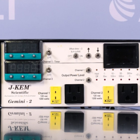 J-KEM Scientific Gemini - 2 Dual Channel Temperature Controller Image
