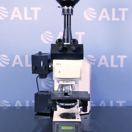 Leica DMRA Fluorescence Microscope with SPOT RT Real Time Real Time Cooled Color Digital Camera Image