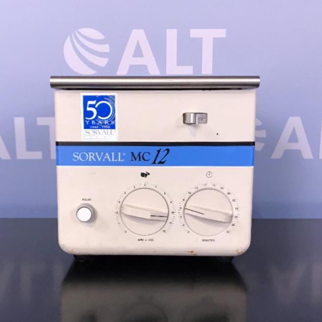 Sorvall MC-12 Microfuge Image