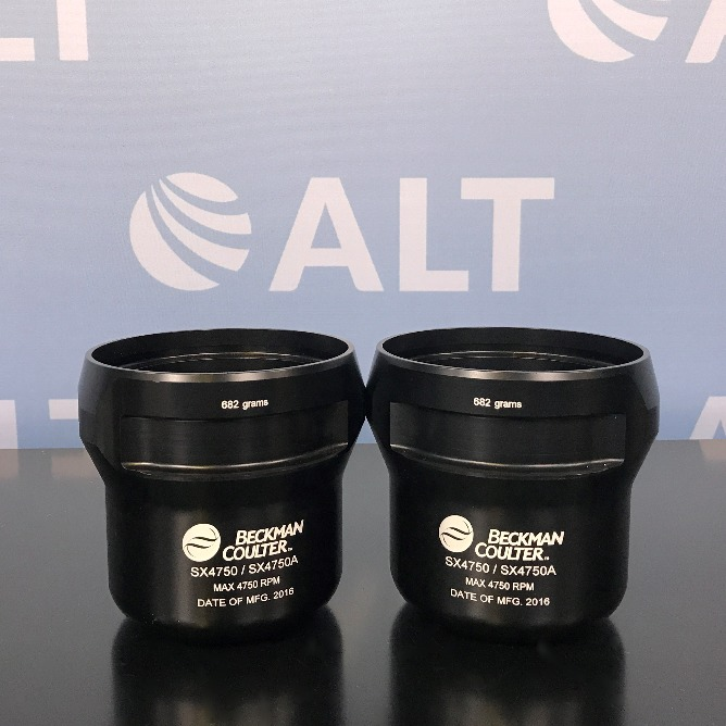 Beckman Coulter SX4750 / SX4750A Rotor Buckets (Set of 2) Image