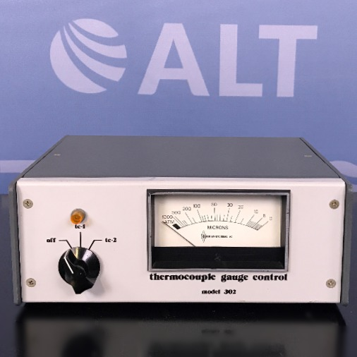 Thermocouple Gauge High Vacuum Control Model 302 Name