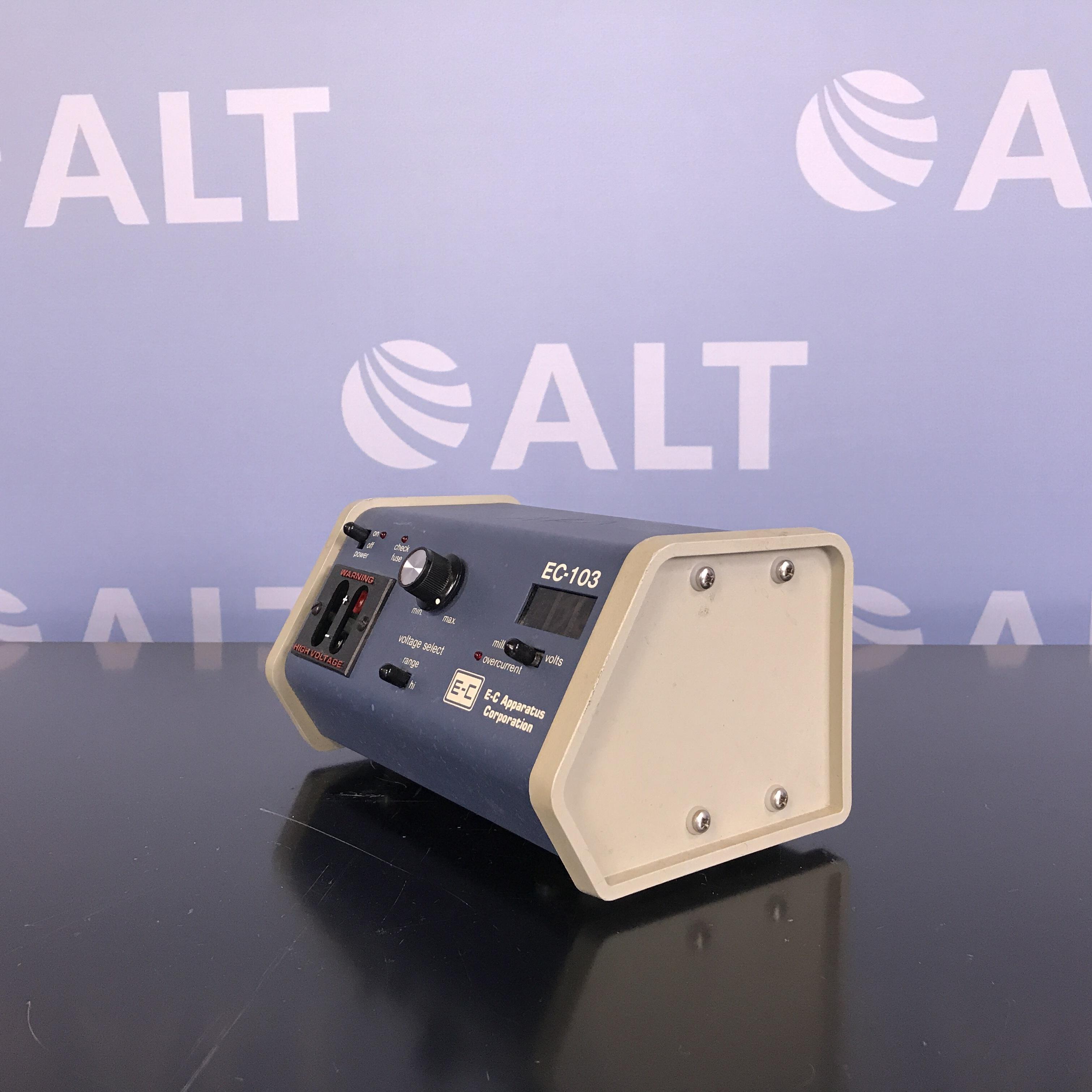E-C Apparatus Corp. EC-103 Minicell Power Supply Image