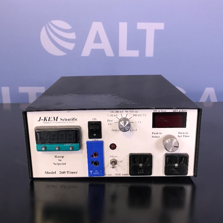 J-KEM Scientific Model 260 Timer Image